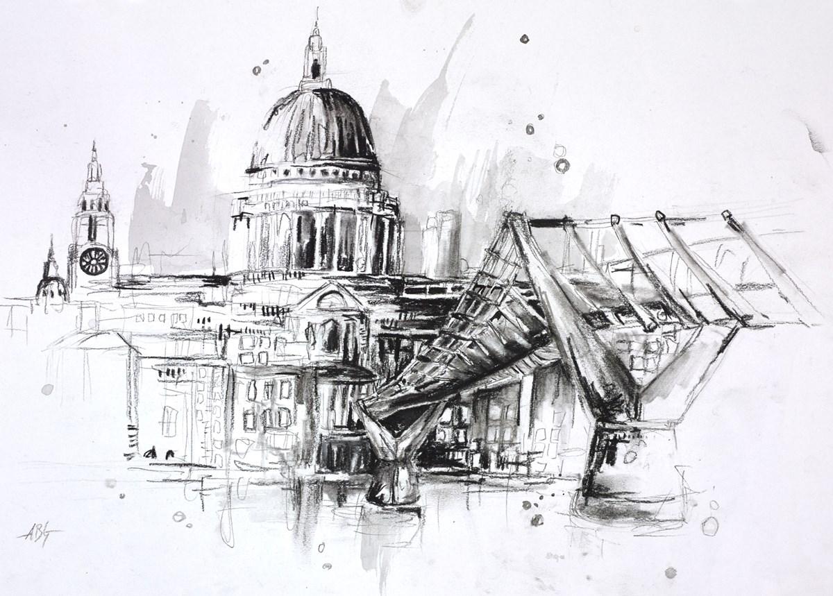 St Paul's Sketch